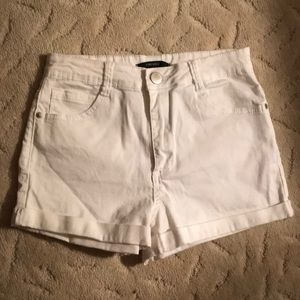 Pants - Never worn white high waisted shorts